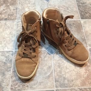 UGG Shoes - Ugg Gradie Deco Studs Suede High Top Sneakers